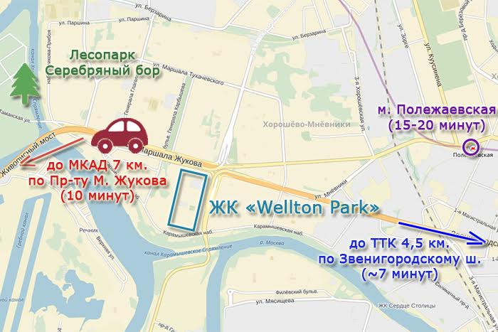Обзор ЖК Wellton Park: сочетание искусства и комфорта